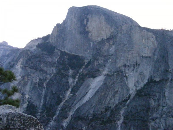 Half Dome from the summit of the Prow.