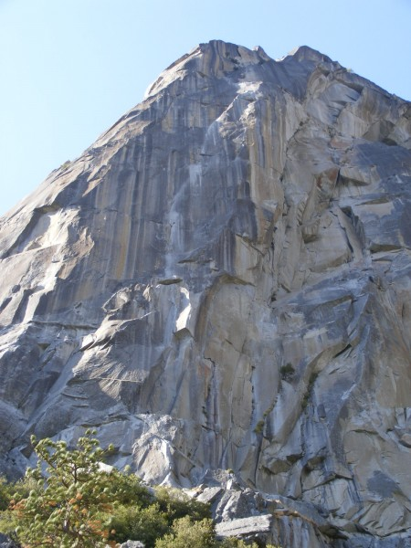 The Prow and Ten Days After from the talus at the base of Washington C...
