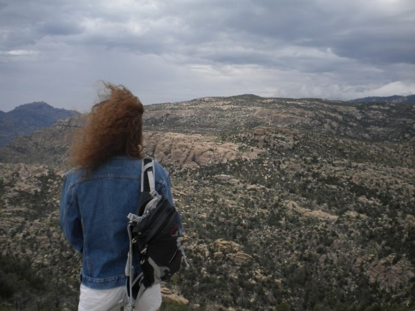 &quot;I can see for miles and miles and miles ...&quot; <br/>