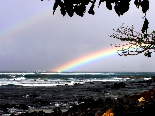 Kuau beach and launch site north shore Maui <br/>