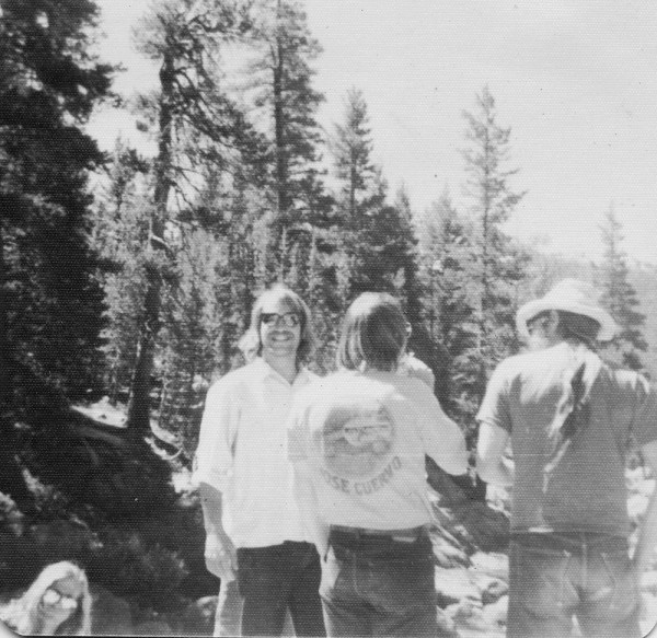 De Flames photo taken at Tenaya Lake about 1974  Randy Hamm, Steve Wal...