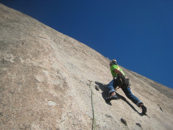 Daryl on 2nd pitch of Hang 'em high!!