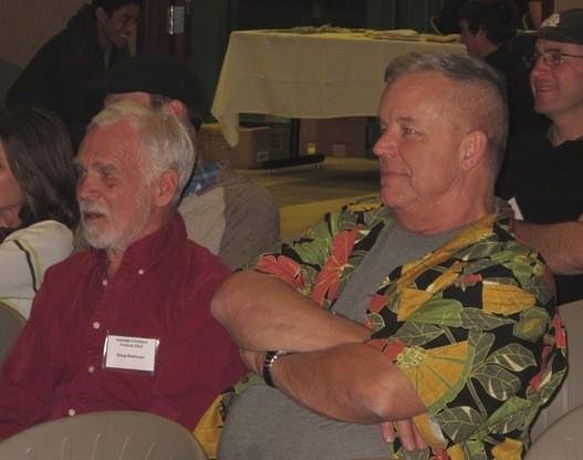 Doug Robinson & Peter Haan.