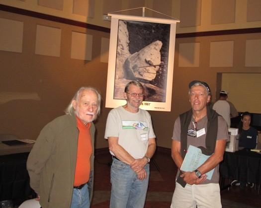 Allen Steck, Joe Fitschen, Dave Yerian.