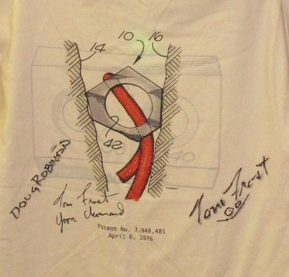 Hexentric PatentWear T-Shirt with original artwork.