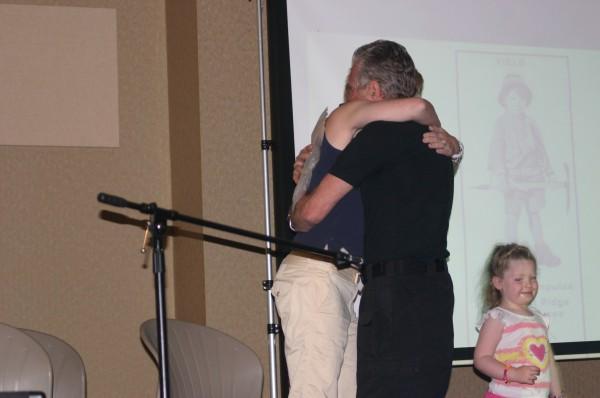 Hug continues...