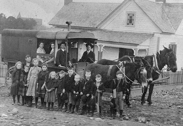 Carrol County School Bus 1910