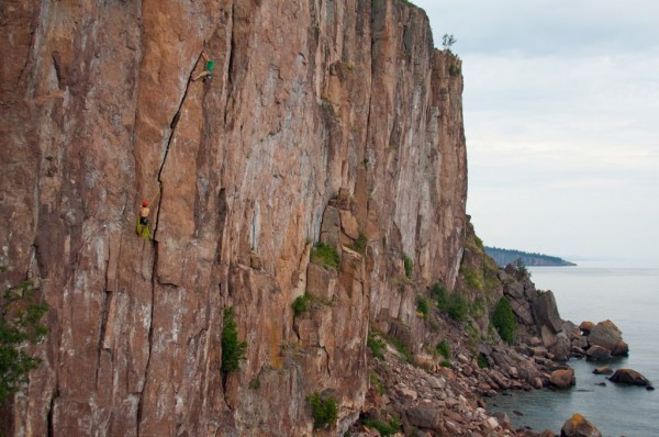 Laceration Jam, Palisade Head northern MN