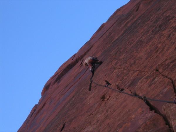 Awesome wavey splitter far left Cliffs of Insanity