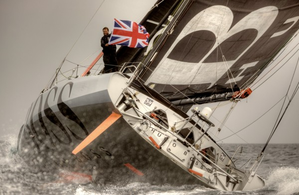 Alex Thomson, Hugo Boss          Sealaunay photo
