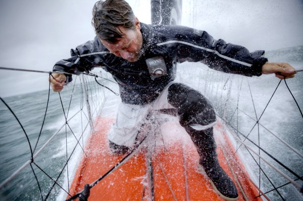 Working the bow on an ocean going rocket ship-Alex Thomson           S...