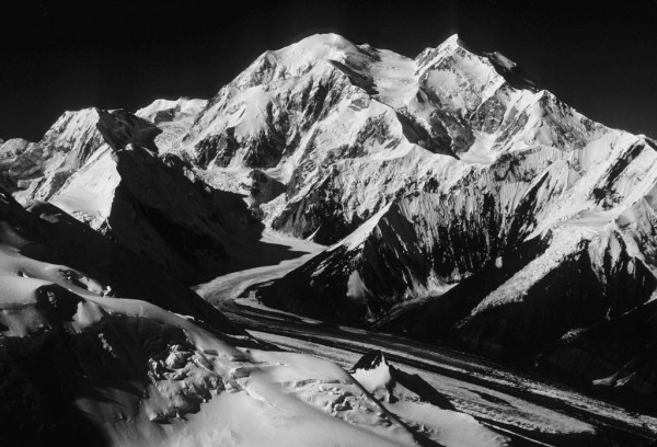 Denali from the summit of Mt. Brooks, 1979