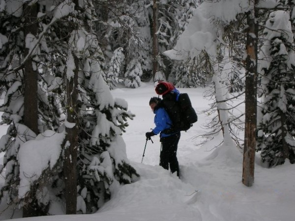 Backcountry touring and snow camping...a love affair.