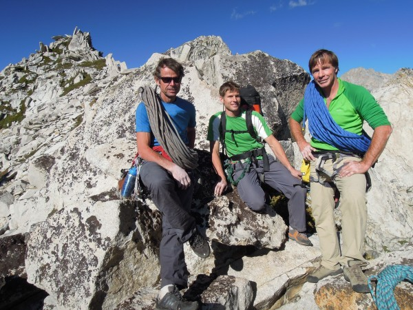peter, brandon and dave..summit of angel wings after FA Valkyrie 9/3/2...
