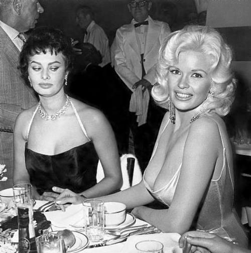 Sophia Loren/Jane Mansfield!