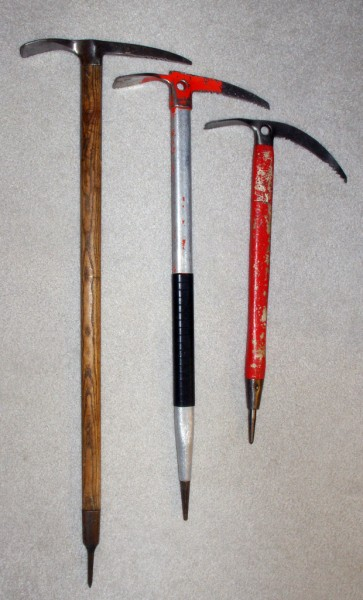 My old alpine &amp; ice climbing tools