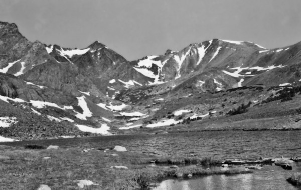 The Kuna Crest (Sierra) in 1974