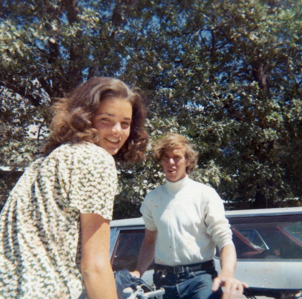PJ Stuart and Cathy Connor the summer of 1971