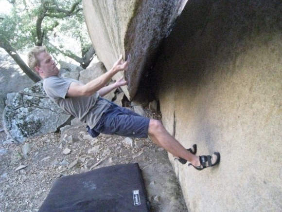 Josh Higgins on 'The Silk Banana' Mt. Woodson