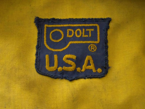 One item of Dolt gear still in use. Fred Beckey's haulbag. So tough an...