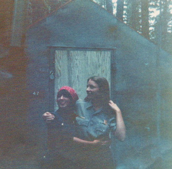 very faded photo in Camp 6.