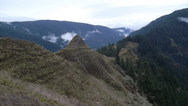 Machu Picchu? ....... No. Columbia River Gorge