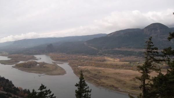 Beacon Rock and Mt. Hamilton, Washington