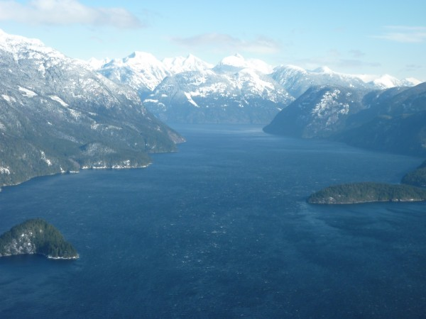 Toba inlet