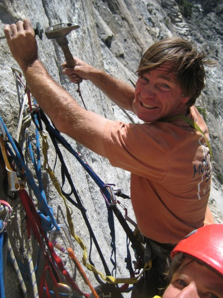 "dave nettle engaging in ""new route therapy"" on Angel Wings in 2009...a..."