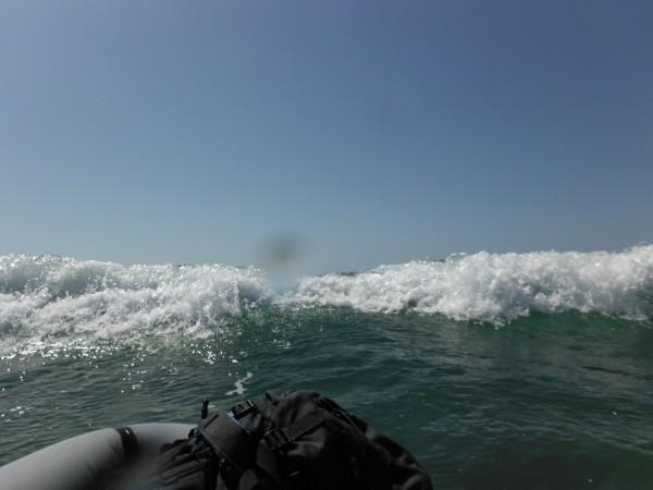 packrafting the Pacific (La Jolla Shores)