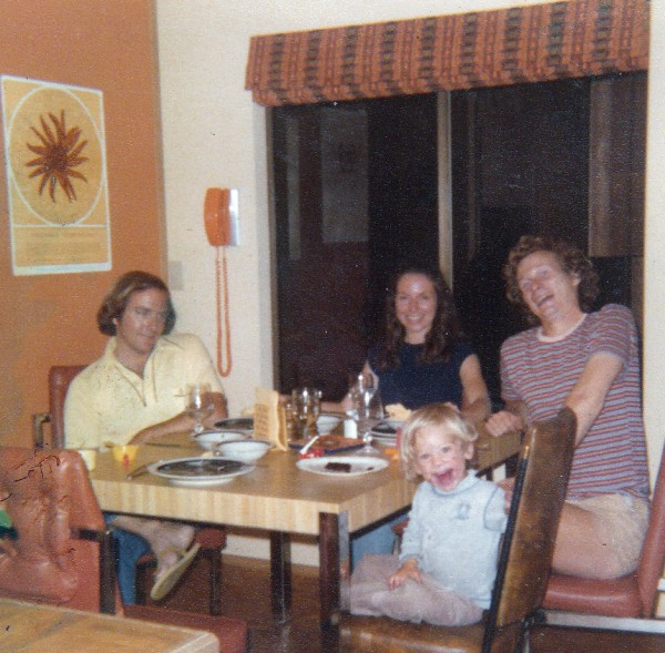 Sheila, Vic, Randy and Ariel in Sheila &amp; Vic's home in Seattle (1978/7...