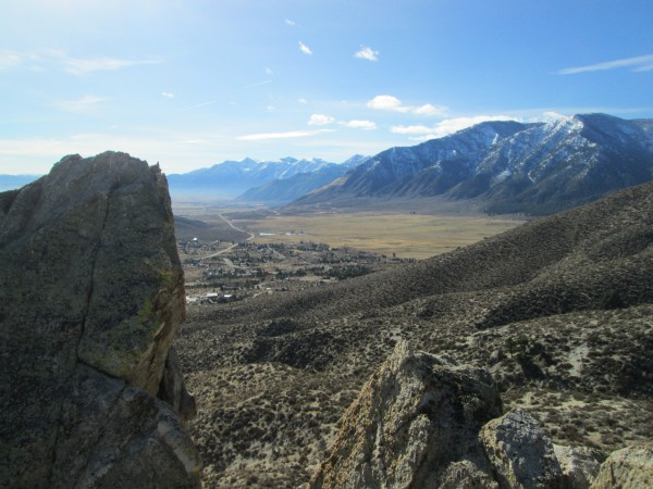 Carson Valley, looking south to Woodfords