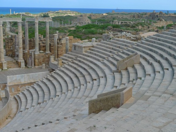 Leptis is indeed amazing. Wonder what it's like now?
