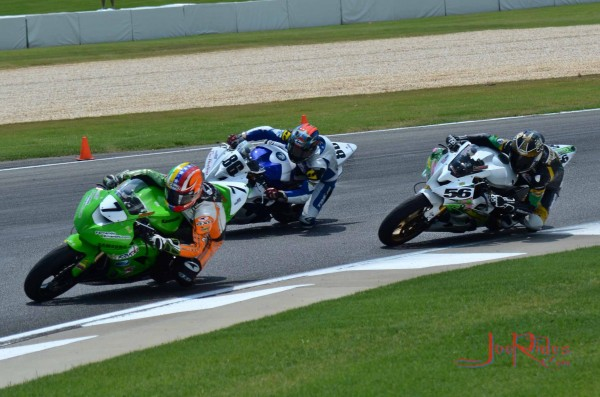 #56 (my son Austin) seen here at NOLA motorsports park for the AMA Fin...