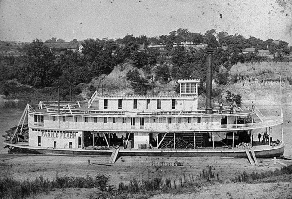 The Fannie Fearn 1887 across the river lies Sweet Home Alabama. <br/>