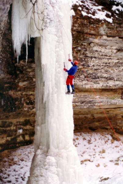 Munising, Michigan Ice