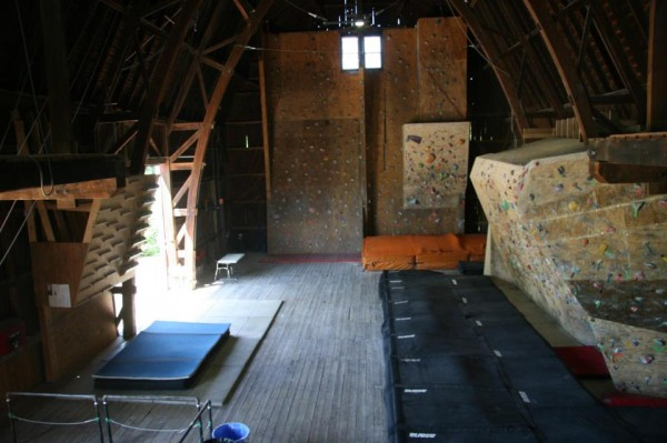 red barn climbing center