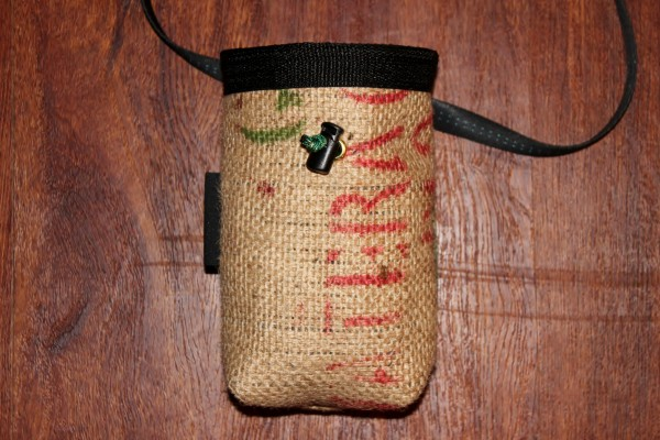 Burlap bag for Kevin.
