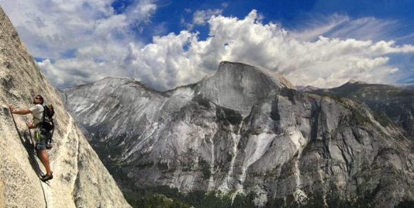 Half Dome from Crest Jewel north Dome
