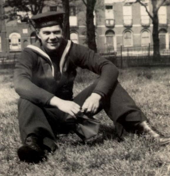 Midshipman Frederick Glover, RNVR ca 1941