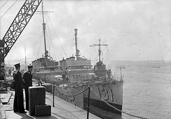 Lend Lease destroyers delivered to Great Britain.