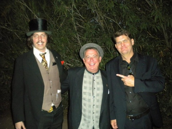 A magician, a business man and a photographer.  Great friends at a fan...