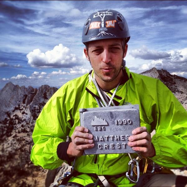 Summit Shot on Matthes Crest.