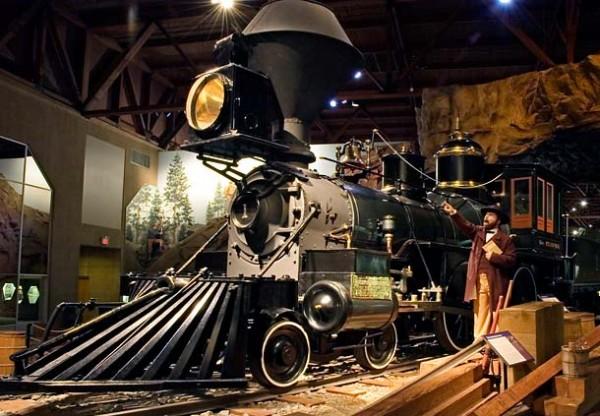 Railroad Museum, Sacramento, CA