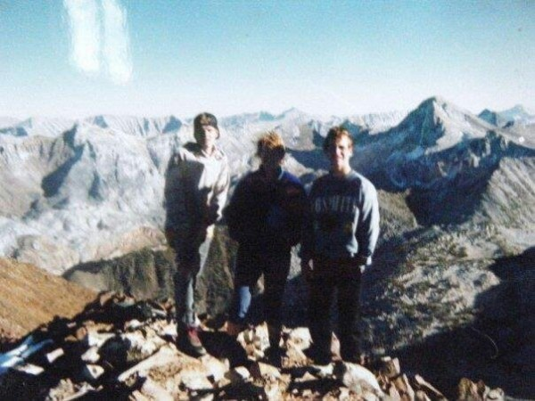 Vern and Margaret Clevenger. Vern took this pic on Mt. Bloody, my 1st ...