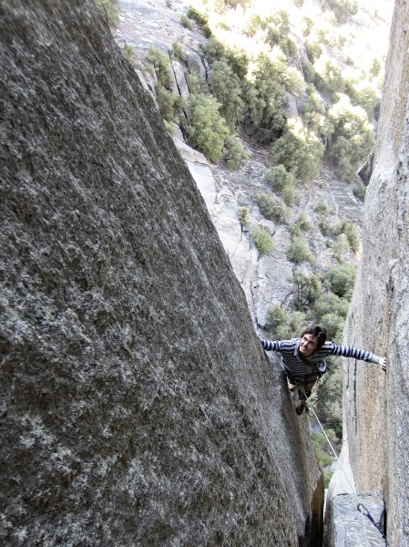 Alejo exiting the flare on pitch 2