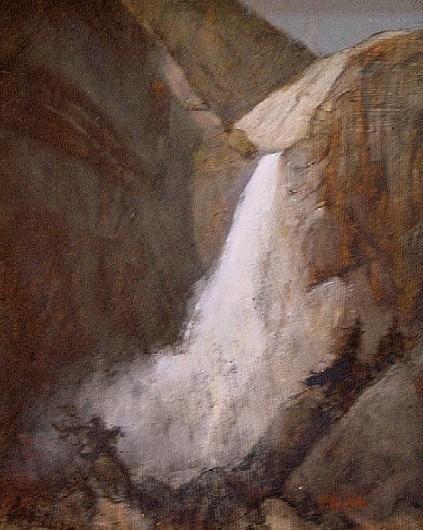 Lower Yosemite Falls Spring