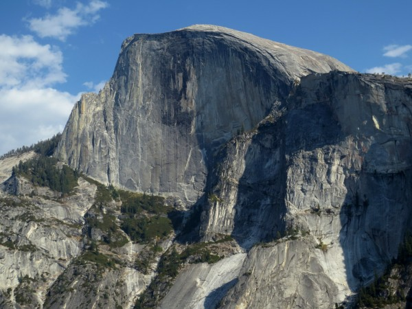 NW Face of Half Dome- what a beautiful wall!