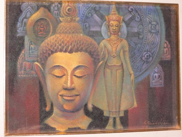 Sand Painting from Sri Lanka