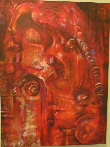 3'x4' Oil on Canvas